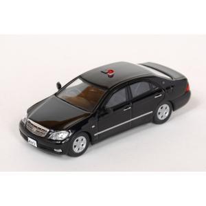 ミニカー レイズ (H7640009) 1/64 トヨタ クラウン 180系 警察本部交通覆面車両