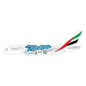 ジェミニジェット 1/400 エミレーツ航空 Expo 2020 Blue A380 A6-EOC 完成品 艦船・飛行機 GJUAE1833 posthobbyshop