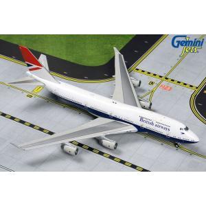 ジェミニジェッツ 1/400 ブリティッシュエアウェイズ(レトロ)747-400 G-CIVB 完成品 艦船・飛行機 GJBAW1858 posthobbyshop
