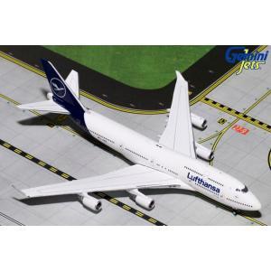 ジェミニジェッツ 1/400 747-400 ルフトハンザ航空 新塗装 D-ABVM 完成品 艦船・飛行機 GJDLH1826|posthobbyshop