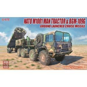 モデルコレクト  1/72 NATO M1001 MAN トラクターとBGM-109G 地上発射巡航ミサイル スケールプラモデル MODUA72096 12月予約 posthobbyshop