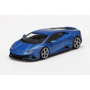 【5月予約】MINI GT 1/64 ランボルギーニ ウラカン EVO Blu Eleos ブルー ...