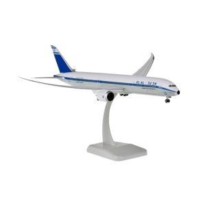 ホーガンウィングス 1/200 B787-9 エル・アル航空 レトロカラー プラスチック製、ランディングギア/スタンド付属 完成品 艦船・飛行機 11212GR|posthobbyshop
