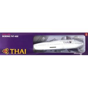 ホーガンウィングス 1/200 B747-400 タイ国際航空 ランディングギア 「 」より 完成品 艦船・飛行機 2247GR|posthobbyshop