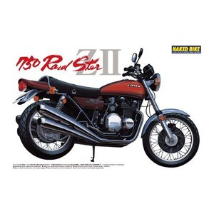 アオシマ 1/12 カワサキ 750ロードスターZII スケールプラモデル バイク No.2 posthobbyshop