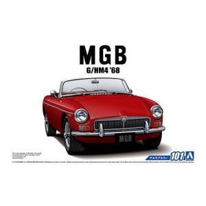 アオシマ 1/24 BLMC G/HM4 MG-B MK-2 '68 スケールプラモデル ザ・モデル...