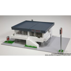 KATO Nゲージ ファミリーレストランA(和食) 鉄道模型パーツ 23-406B|posthobbyshop