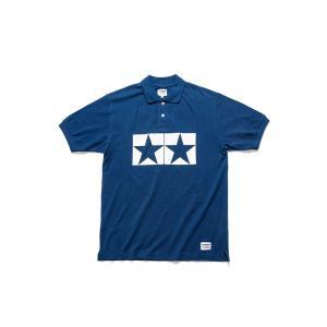 タミヤ JUN WATANABE タミヤポロシャツ (ブルー/M) フィギュア 67460|posthobbyshop