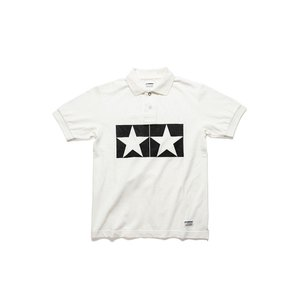 タミヤ JUN WATANABE タミヤポロシャツ (ホワイト/S) フィギュア 67464|posthobbyshop
