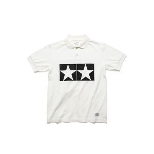 タミヤ JUN WATANABE タミヤポロシャツ (ホワイト/L) フィギュア 67466|posthobbyshop