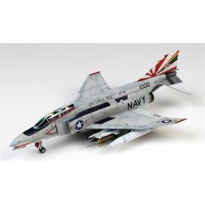 """童友社 1/48 凄!プラモデル第5弾 F-4B ファントムII""""VF-111サンダウナーズ"""" スケ..."""