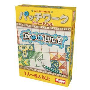 ホビージャパン パッチワーク:ドゥードゥル 日本語版 ボードゲーム 4981932024523