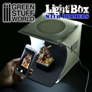 グリーンスタッフワールド LED付ボックス撮影ブース 模型用グッズ GSWD-1684|posthobbyshop