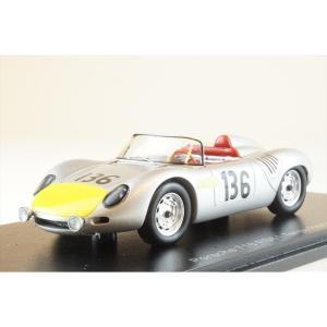 スパーク 1/43 ポルシェ 718 RS61 No.136 1961 タルガ・フローリオ S.モス/G.ヒル 完成品ミニカー S4149|posthobbyshop