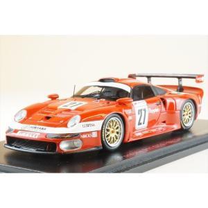 スパーク 1/43 ポルシェ 911 GT1 No.27 1997 ル・マン24時間 8位 C.ペスカトーレ/P-L.マルティーニ/A.ハーマン 完成品ミニカー S5604|posthobbyshop