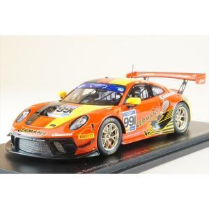 スパーク 1/43 ポルシェ 911 GT3 R No.991 チーム・ドイツ 2019 FIA GTカップ ヴァレルンガ S.Gorig/A.Renauer 完成品ミニカー S6319|posthobbyshop