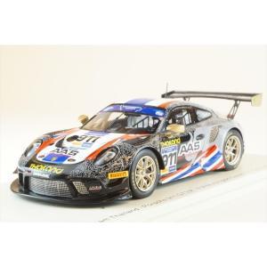 スパーク 1/43 ポルシェ 911 GT3 R No.911 チーム・タイ 2019 FIA GTカップ ヴァレルンガ V.Inthraphuvasak/K.グシリ 完成品ミニカー S6320|posthobbyshop