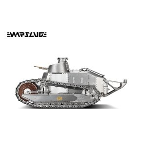 【予約・完全受注発注】WARSLUG オール金属製可動ハイエンドレプリカ戦車 1/6 ルノー FT-17(フランス軍) 完成品|posthobbyshop|04