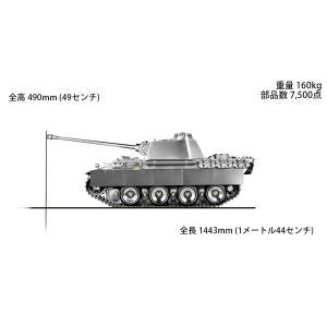 【予約・完全受注発注】WARSLUG オール金属製可動ハイエンドレプリカ戦車 1/6 パンターG型 (ドイツ軍) 完成品|posthobbyshop|02