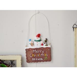クリスマス雑貨 ショコラクッキースノーマンハング クリスマス飾り クリスマスオーナメント クリスマス ディスプレイ 置物 雑貨 飾り付け|potafleurs