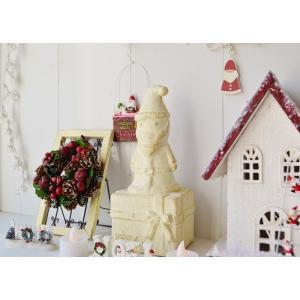 クリスマス雑貨 カムブランペールノエル クリスマス飾り クリスマスオーナメント クリスマス ディスプレイ 置物 雑貨 飾り付け|potafleurs