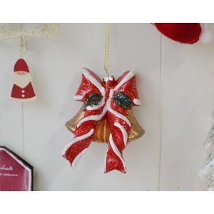 クリスマス雑貨 メモリーズオーナメントリボンベル クリスマス飾り クリスマスオーナメント クリスマス ディスプレイ 置物 雑貨 飾り付け|potafleurs