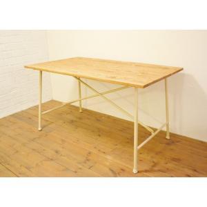 ダイニングテーブルMCホワイト130 potafleurs