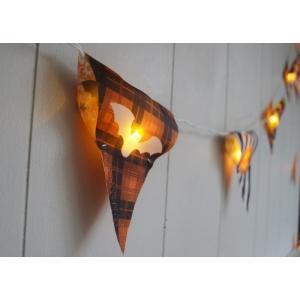 ハロウィン飾り ファンファンLEDバナーハロウィン ハロウィン雑貨 ハロウィングッズ 壁飾り LED フラッグ フェスタフラッグ パーティー ガーランド|potafleurs