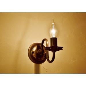 ウォールランプブラケット灯具キャンドルB potafleurs