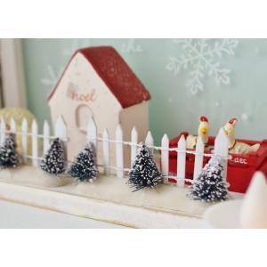 クリスマス雑貨 アルブールフェンスS クリスマス飾り クリスマスオーナメント クリスマス ディスプレイ 置物 雑貨 飾り付け|potafleurs