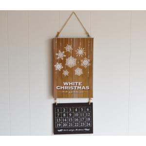 クリスマス アドベントカレンダー LEDアドベントカレンダーホワイトクリスマス LED クリスマス イルミ 壁飾り カレンダー|potafleurs