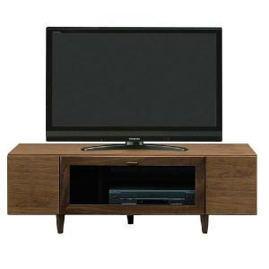 収納 テレビボード おしゃれ 無垢 ブラウンテレビ台 クレド|potarico