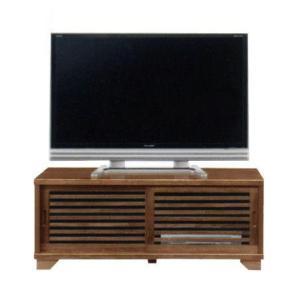 テレビ台 引戸 NEW古都120ハイタイプ TVボード(ライトブラウン)|potarico