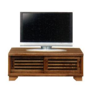 テレビ台 引戸 ローボード NEW古都90ロータイプ TVボード(ライトブラウン)|potarico