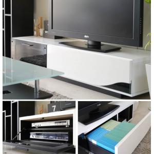 テレビ台 テレビボード 150 北欧 扉 収納 クアトロ150ローボード|potarico|02