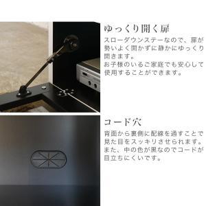 テレビ台 日本製 完成品 170 テレビボード おしゃれ ホワイト ローボード リビング収納 シュール|potarico|13