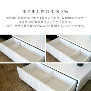 テレビ台 日本製 完成品 170 テレビボード おしゃれ ホワイト ローボード リビング収納 シュール|potarico|16