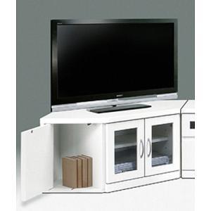 テレビ台 コーナー 白 コーナーテレビ台 |potarico