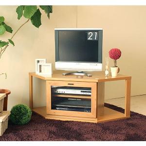 テレビ台 コーナー 日本製 テレビボード ナチュラル|potarico