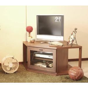 テレビ台 コーナー 日本製 テレビボード ウォールナット|potarico