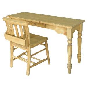 デスクセット カントリー アイロスジャパン A302 table 1200&A002 chursh chair|potarico