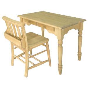 デスクセット カントリー アイロスジャパン A303 table 900&A002 chursh chair|potarico