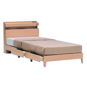 ベッド シングル ベッド下収納 木製ベッド ハミルトンシングルフレーム のみ|potarico