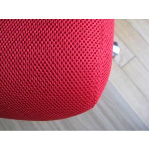 オフィスチェア チェア 椅子 事務 デザイン キャスター付 ガス圧昇降式  赤 黒 リトルオフィスチェアー(RED)-tm|potarico|04