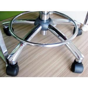 オフィスチェア チェア 椅子 事務 デザイン キャスター付 ガス圧昇降式  赤 黒 リトルオフィスチェアー(RED)-tm|potarico|05