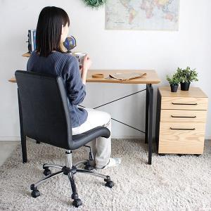 オフィスチェア PCチェア パソコンチェア デスクチェア レザー 合皮 キャスター付き マービーIIオフィスチェア|potarico|05