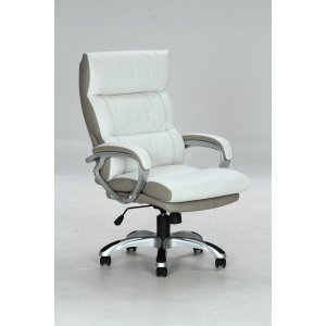 椅子 オフィス チェアー ホワイト|potarico