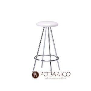 カウンターチェアー イス いす 昇降式 カウンターチェア PC-108(WH) ホワイト-aaz|potarico