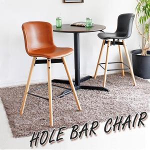 カウンターチェア カウンターキッチン用 固定 椅子 イス 背もたれ付き  チェア ホールバーチェア(ブラック/キャメル)|potarico
