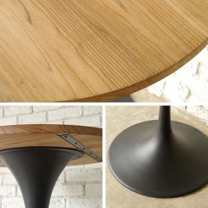 ダイニングテーブル テーブル カフェテーブル 丸 幅70cm 木製 北欧 3010テーブル|potarico|02